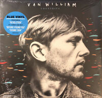 VAN WILLIAM Countries 2018 US limited edition blue vinyl LP album NEW/SEALED