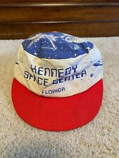 Vintage Youth Kennedy Space Center Snapback Hat Florida Made In The USA