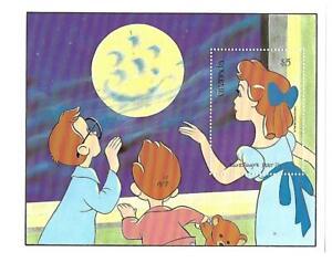 Grenada ( Disney Peter Pan ) Souvenir Sheet Mint Never Hinged