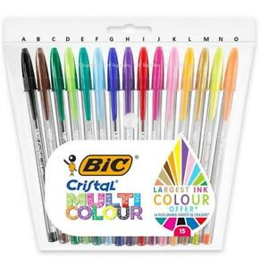BIC Cristal Ball Colours Fun Multicolour Pens