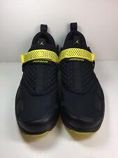 Nike Air Jordan Trunner LX Thunder Black Opti Yellow Msrp $140 Size 11