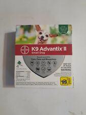 New listing K9 Advantix Ii Flea Tick Medicine Small Size Dog 4 Month Supply Pack K-9 4-10