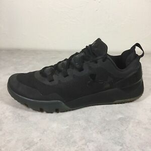 Under Armour Men's Charged Ultimate Iced Tonal Black Trainers US 13