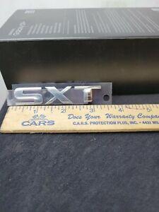2-Dodge Chrysler Ram SXT Chrome Stick-on Emblems