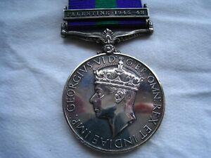 General service medal-Palestine 45-48