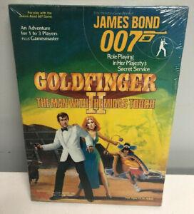 JAMES BOND 007 GOLDFINGER II SEALED Boxed Set Victory Games Secret Service Box
