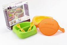 Kindergeschirr Set bunt BEABA Lunchbox Sorbet