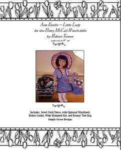 Ann Estelle 10in ~Little Lady~ by Simply Grace Designs Clothing Pattern