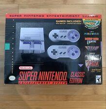 Authentic SNES Super Nintendo Classic Mini Entertainment System - Ships Same Day