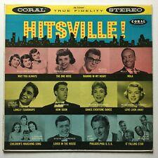 *HITSVILLE Coral CRL 57269 strVG/EX stereo Buddy Holly J Wilson Degritter