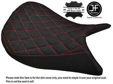 GRIP VINYL DIAMOND RED ST CUSTOM FITS SUZUKI GSX-S 1000 15-17 FRONT SEAT COVER