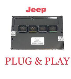 2009 Jeep Grand Cherokee 3.7L ECM PCM ECU Engine Computer Plug & Play 05150467AB