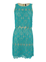 Kensie Women's Layered Lace Dress