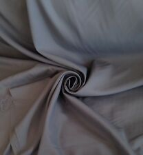 9 Metres Quality Dress Lining / Craft Fabric Material In Dark Slate Grey