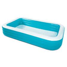 "Summer Waves Deluxe 120 x 72"" Inflatable Backyard Kiddie Family Splash Pool"