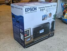 Epson Expression Premium XP-7100 Wireless Color Photo Printer Black New Unopened