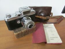 RARE Vintage ARGUS A3 COLORCAMERA Camera with exposure meter,Case,Instructions