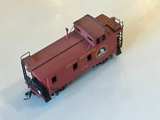 """GN HO Brass factory painted """"wood"""" Caboose #736 professionally weathered Lambert"""
