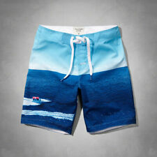 """ABERCROMBIE & FITCH MEN`S 9"""" CLASSIC FIT SWIM SHORTS SIZE XSMALL - NWT"""