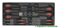 Sealey TBT23 Tool Chest Tray Scraper & Pick Set Straight Right Angle Swan Neck
