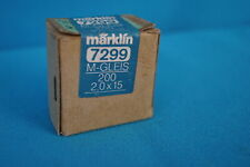 Marklin 7599 Cross Crews for M Track 200 pcs. Box NEW