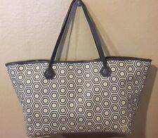 JONATHAN ADLER  Grey Honeycomb Bag Handbag Purse Tote