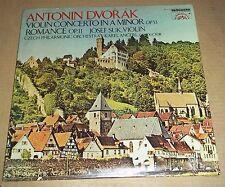 Josef Suk/Ancerl DVORAK Violin Concerto, Romance  Vanguard/Supraphon SU-3 SEALED
