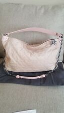 CHANEL Coco Daily Hobo Iridescent Light Pink Calfskin Quilted in Rose Clair 13c