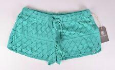 2016 NWT WOMENS ELEMENT REFLECTION SHORTS $40 M teal eyelet knit shorts