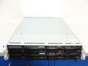 2 x Supermicro 1U 4 Bay Server X10SRW-F Xeon E5-1680 V4 3.4GHz 8 Core 16GB 4TB