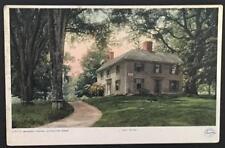Munroe Tavern Lexington Mass Detroit Publishing Co 11403