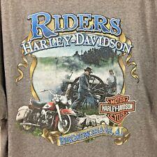 Harley Davidson XL mens t shirt gray distressed Riders Birmingham AL