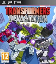 Transformers Devastation (PS3) BRAND NEW SEALED