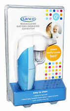 Graco NasalClear NASAL ASPIRATOR Baby Nose Cleaner Health Care 2AA-Bat. Operated