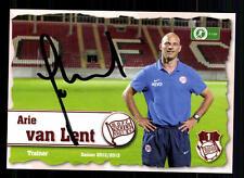 Arie van Lent Autogrammkarte Kickers Offenbach 2012-13 Original + A 104177