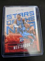 2017-18 PANINI PRESTIGE STARS OF THE NBA #3 RUSSELL WESTBROOK THUNDER