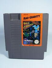 RAD GRAVITY für NES Nintendo Entertainment System nur Spiel Modul red