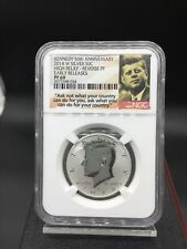 2014 W KENNEDY HALF DOLLAR SILVER HIGH RELIEF REV PF69 NGC EARLY RELEASE