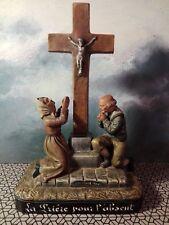 Bord de mer terre cuite peinte isle adam la prière pour l'absent