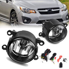 for 2012 2013 2014 2015 Subaru Impreza XV Crosstrek Clear Fog Light Bumper Lamps