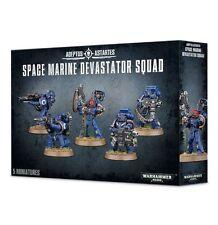 SPACE MARINE DEVASTATOR SQUAD - WARHAMMER 40,000 - 40K - GAMES WORKSHOP