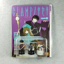 Clamp No Kiseki Volume 9 Book and 3 Chess Pieces Figures Tokyopop Sealed