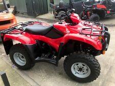 HONDA TRX 500 BIG RED ROAD LEGAL QUAD BIKE 2013 GREAT BIKE