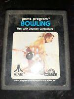 Bowling (Atari 2600, 1978) *BUY 2 GET 1 FREE +FREE SHIPPING*