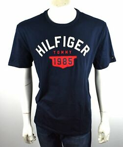 Tommy Hilfiger Men's Logo Crew Tee T-Shirt Top - 8876282