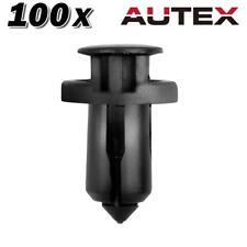 100x Nylon Bumper Cover Trim Clip for Nissan Juke for Maxima for Quest 11-2014