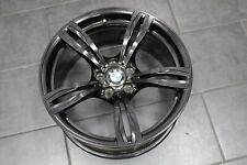 BMW 5er CERCHIO m5 f10 doppio Cerchi a raggi styling 343 // M 20 POLLICI NERO LUCIDO