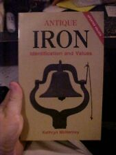1984 book ANTIQUE IRON IDENTIFICATION AND VALUES by Kathryn McNerney