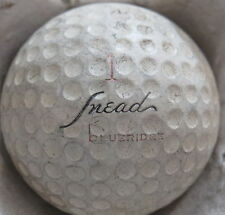 (1) SAN SNEAD SIGNATURE LOGO GOLF BALL ( BLUERIDGE CADWELL COVER CIR 1958) #1