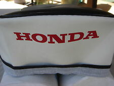 HONDA C110  CA110 1960 TO 1969  SPORT 50  REPLACEMENT BLACK&WHITE SEAT COVER